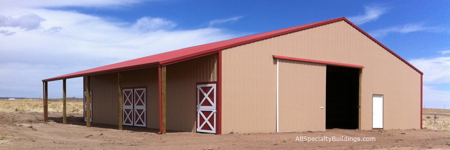 Colorado Horse Barn Builders