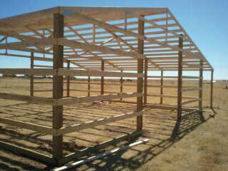 post frame construction