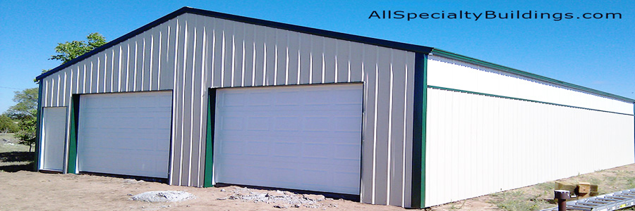 Metal Garage Construction - Ellicott, Colorado