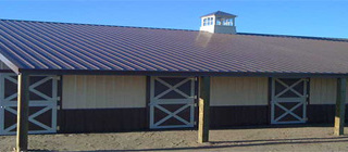 colorado horse barn construction