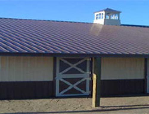 Horse Barn Construction – Colorado Springs, Colorado
