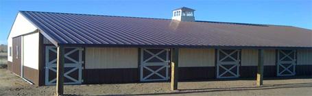 colorado horse barn construction