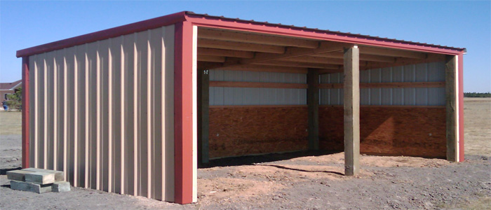 12 X 24 Loafing Shed 3 Sider Yoder Co All Specialty