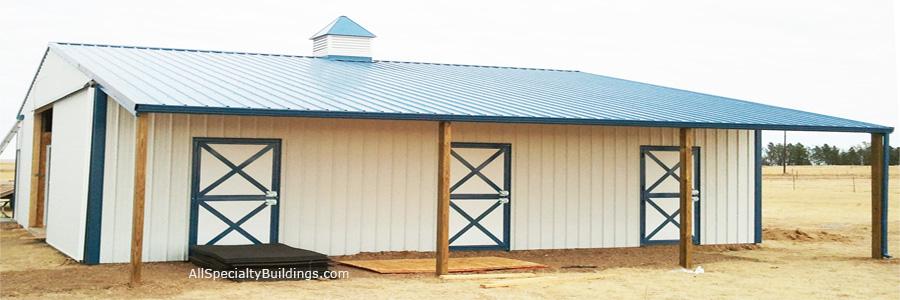 Pole Barns & Pole Buildings – All Specialty Buildings Inc.