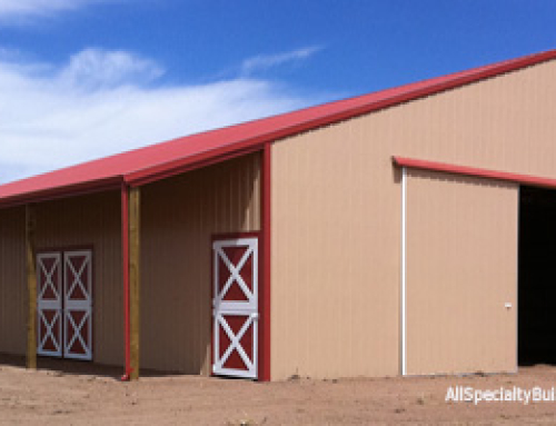 Metal Horse Barn Construction- Falcon, CO